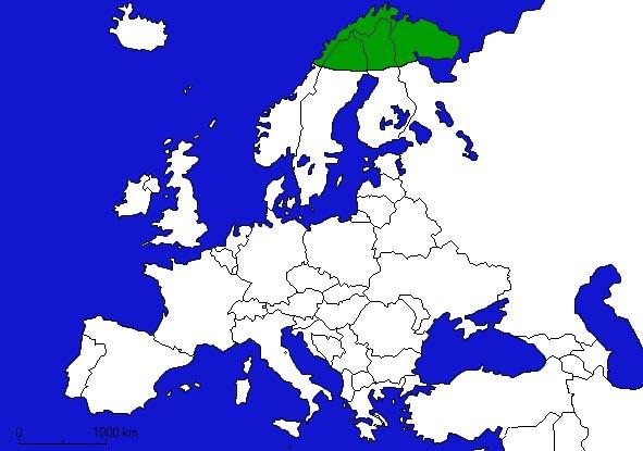 Inforets   Paysages enneigés de Laponie